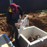 Утепление горловины погреба Волжанин 1