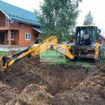Подготовка к монтажу погреба Волжанин 3