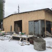 Запуск зимнего цеха по производству погребов