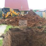 Подготовка котлована для погреба Волжанин 3
