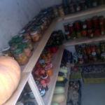 Хранение урожая в погребе Волжанин 3