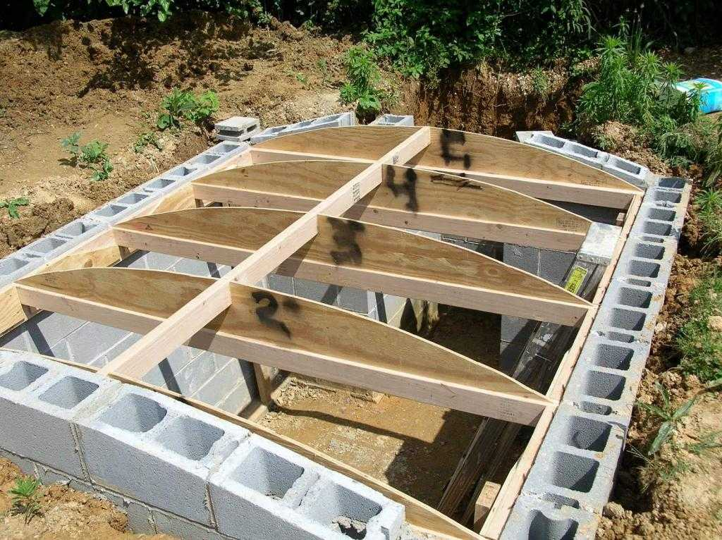 Строительство погреба своими руками