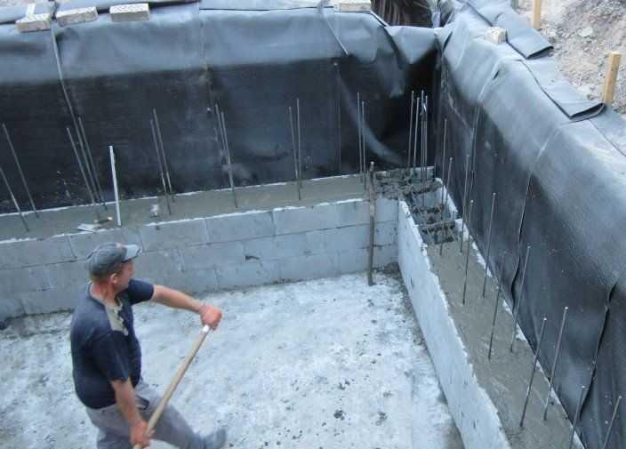 Устройство бетонного погреба